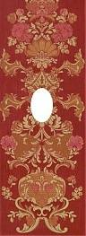 Декор STARIY ARBAT Decor-Wentana Flower Red 25,3x70,6
