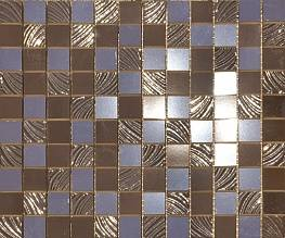 Мозаика декоративная СД138 PAUL SKYFALL PSFM06 mosaico 25*30 brown 2.5*2.5
