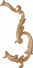 Спец. элемент LOUVRE CURVE BONE Decor (set 2)  23x35