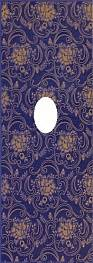 Декор STARIY ARBAT Decor-Wentana Glam Blue 25,3x70,6
